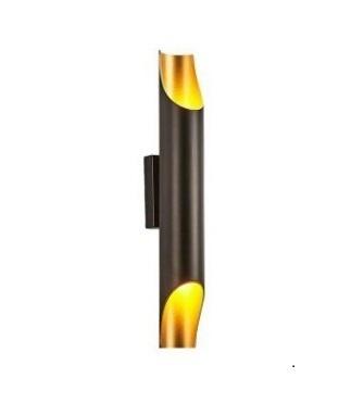 Wall lamp Abigali Straight Gold