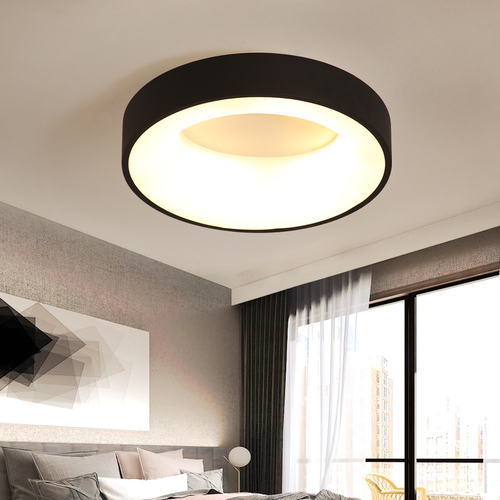Round LED ceiling Abigali 400 * 110mm 20W - three colors, dimmable - Remote control