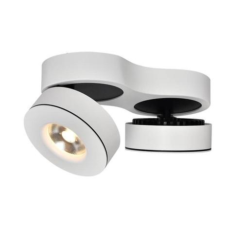 Surface mounted Abigali LED 12W white WW - double