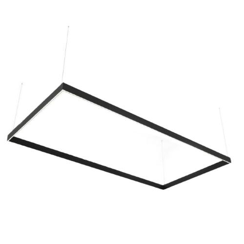 Linear LED lamp Abigali Rectangle System duble side rectangle 240x120