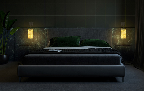Wall lamp Abigali 6617 Marble Stone 607Y 7W 3000K