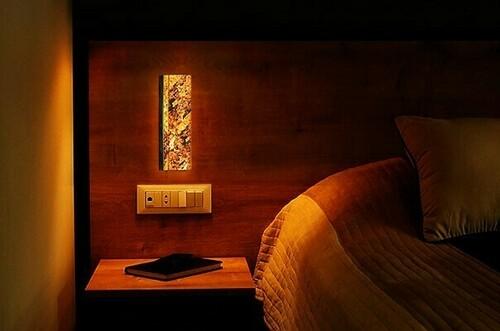 Wall lamp Abigali 6616 Marble Stone 606R 6W 3000K