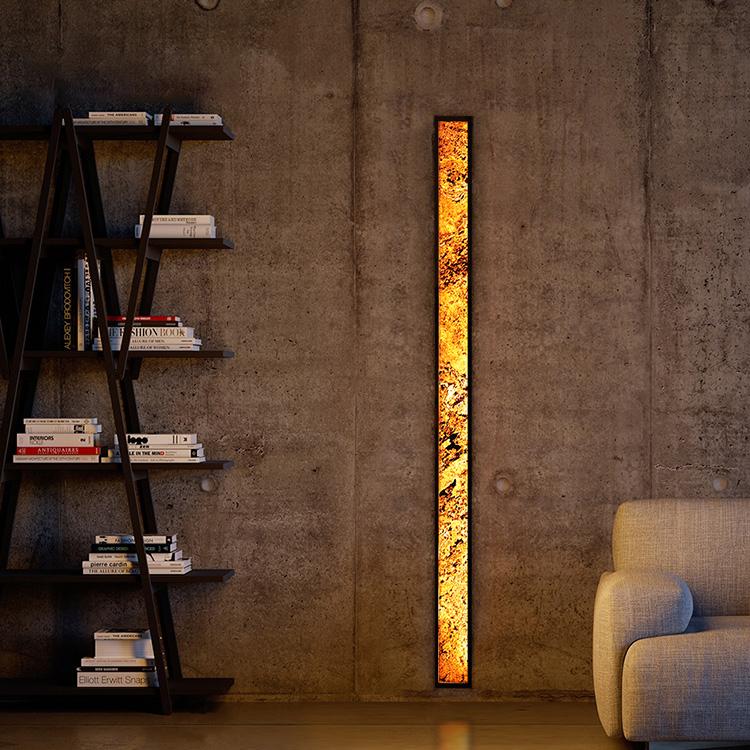 Wall lamp Abigali 6611 Marble Stone 606R 28W 3000K