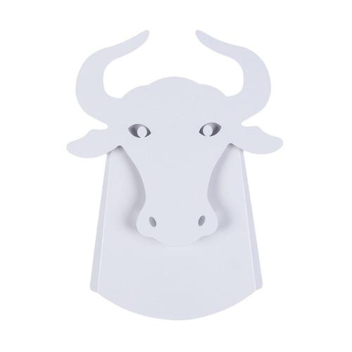 Wall lamp Taurus Abigali Bull White