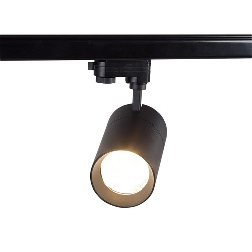 Blaupunkt 1-phase LED spotlight Vision 30W black with a light color switch