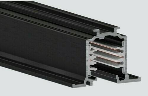 Recessed track 2m black RECESSED ONETRACK Stucchi 9000-2 / BR
