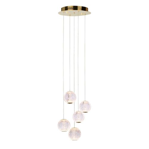 Gold Rosario LED Pendant Lamp