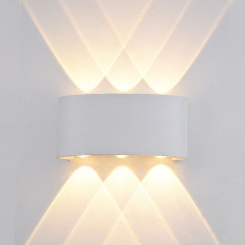 A modern Ortelo outdoor wall lamp