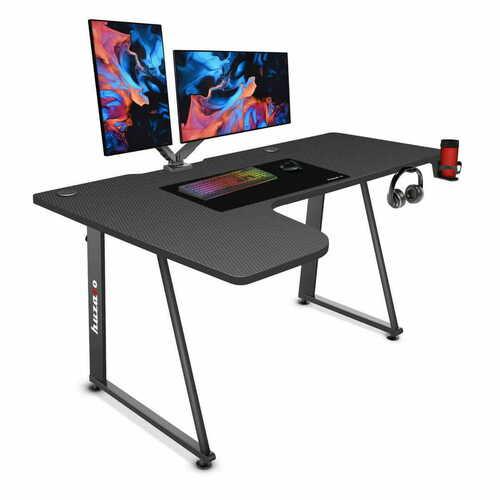 Gaming corner desk 7.7 black