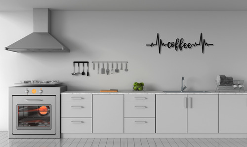 Coffee lettering wall decoration