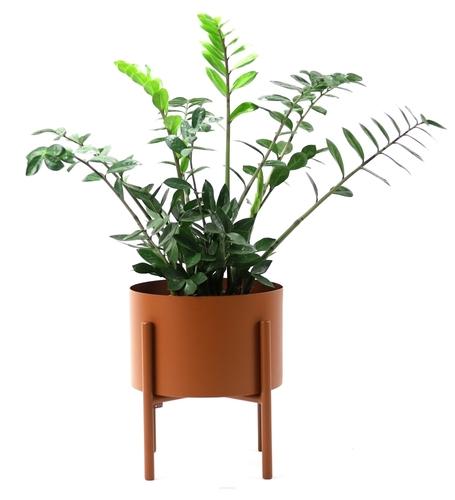 MOYENE Exclusive 37cm copper flowerbed