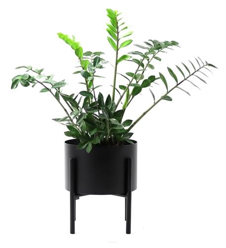 Metal flowerbed MOYENE Exclusive 37cm Black