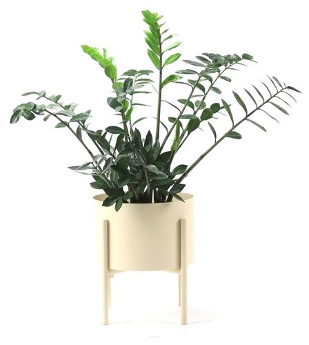Metal flowerbed MOYENE Exclusive 37cm beige