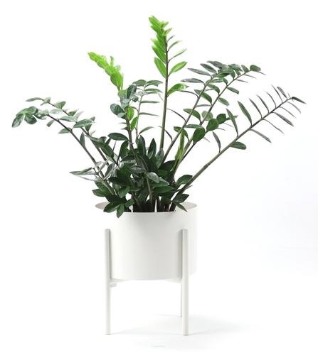 Metal flowerbed MOYENE Exclusive 37cm white