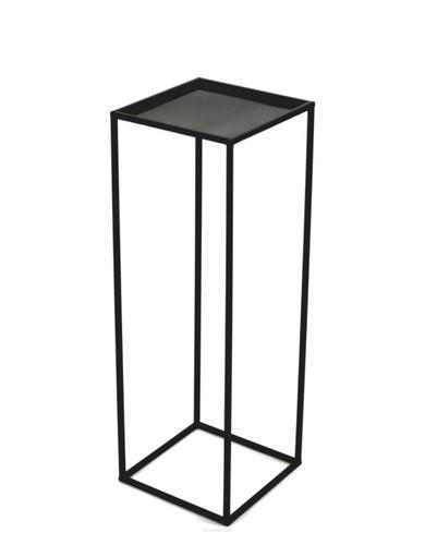 Flowerbed LOFT metal stand for one pot 100cm black
