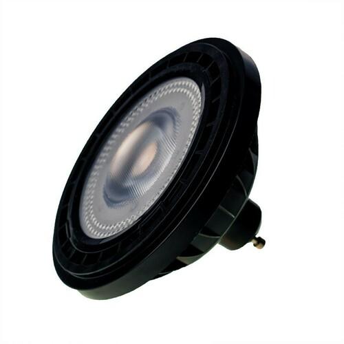 Bulb Ar111 10 W Gu10 4000 K / Black
