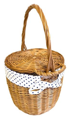 Wicker basket, handmade, wicker bag, large