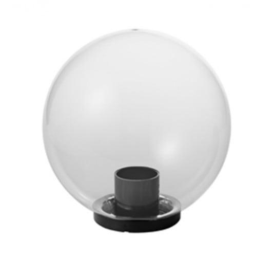 Garden lamp, garden ball, Luna ball 40 cm, modern, transparent