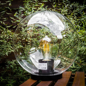 Garden ball 30cm transparent LUNA BALL small 2