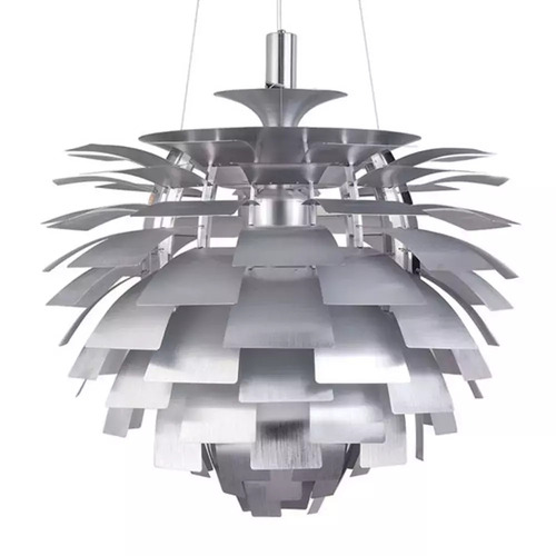 ARCHI hanging lamp silver 48 cm
