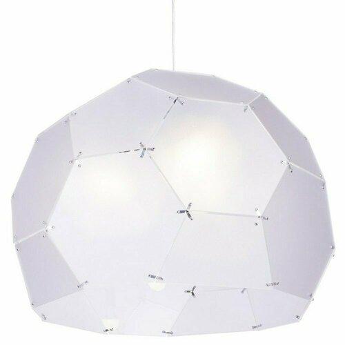 Hanging lamp DOME, semi-transparent, 80 cm