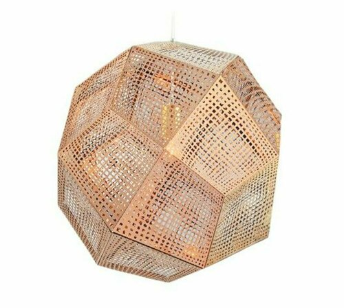 Pendant lamp FUTURI STAR copper 32 cm