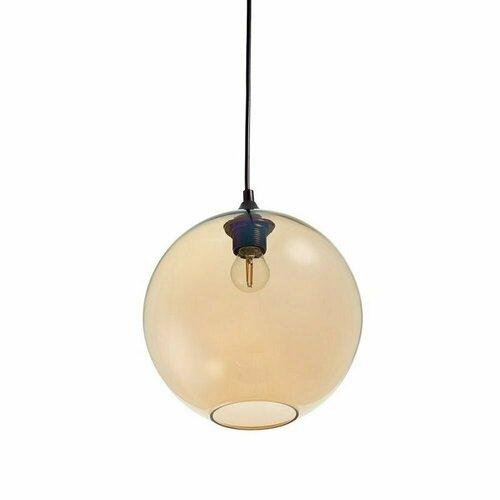 Pendant lamp LOVE BOMB amber 25 cm