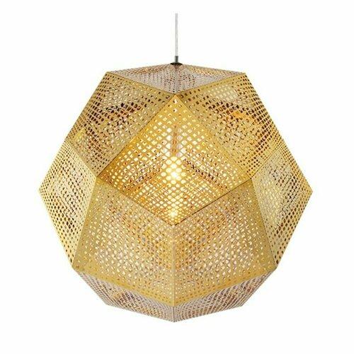 Pendant lamp FUTURI STAR gold 32 cm
