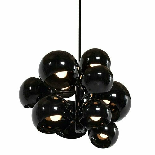 Hanging lamp ASTRONOMY-11 55 cm black