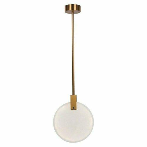 Pendant lamp MARBLE LED gold marble 24 cm