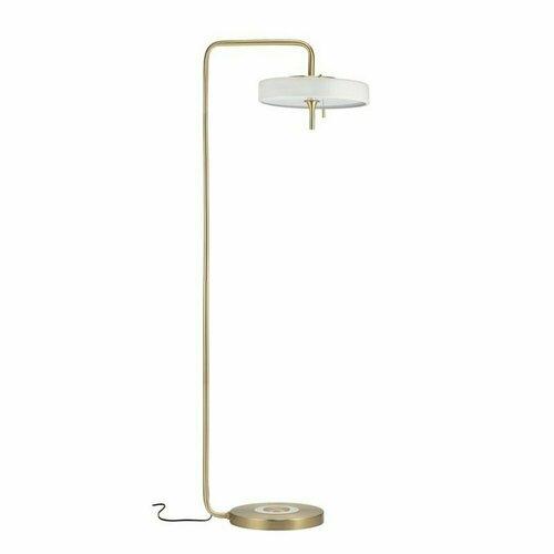 ARTDECO floor lamp white and gold 162 cm
