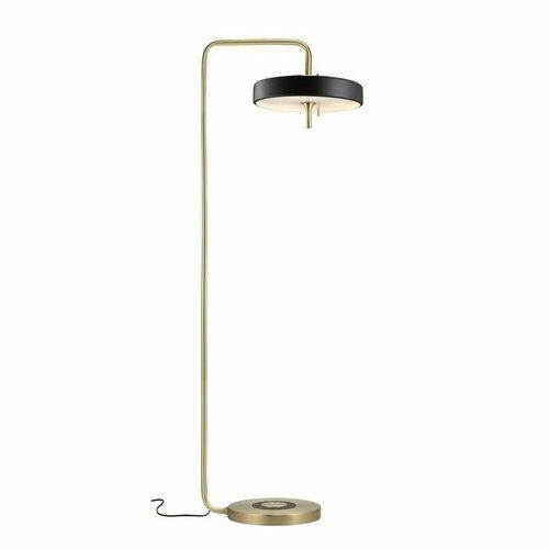 ARTDECO floor lamp black and gold 162 cm