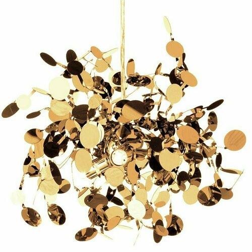Pendant lamp MONETTI 40 cm gold