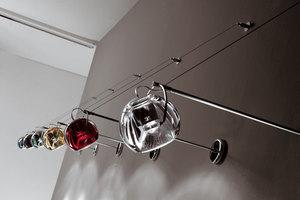 Hanging lamp FABBIAN Beluga Red D57A1103 small 4