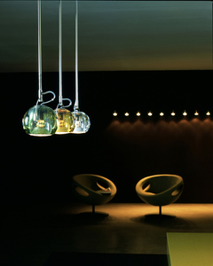 Hanging lamp FABBIAN Beluga Green D57A1143 small 12