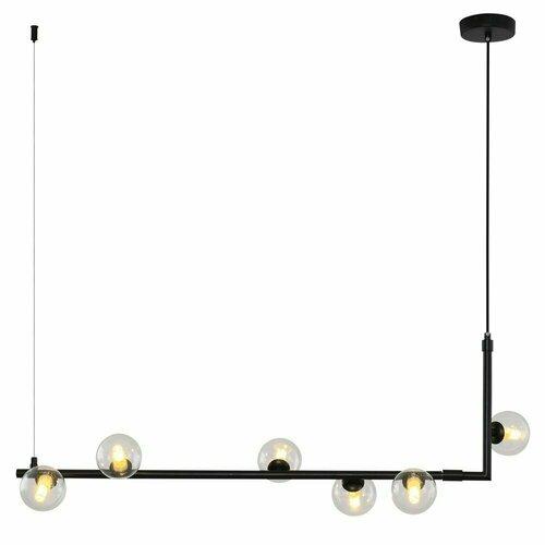 Hanging lamp SIMPLY, black, 90 cm
