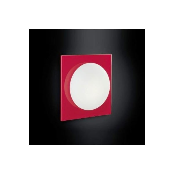 Wall Sconce Murano Due (Leucos) Mini Gio Red / White 40W G9