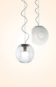 Hanging lamp Fabbian EYES F34A0100 Transparent small 4