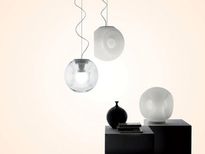 Hanging lamp Fabbian EYES F34A0101 White small 1