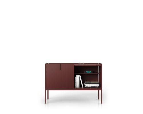 Petit chest of drawers - burgundy