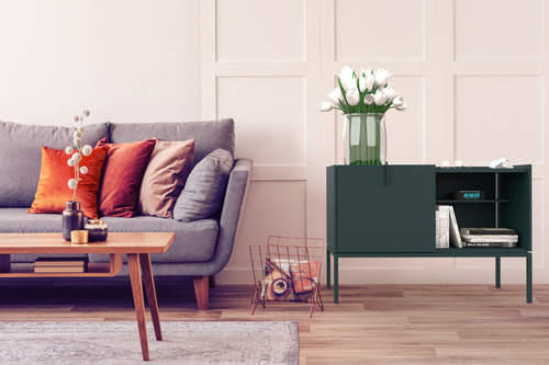 Petit chest of drawers - green