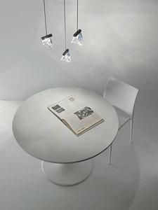 Table lamp Fabbian TRIPLA F41B0111 Polished aluminum small 2