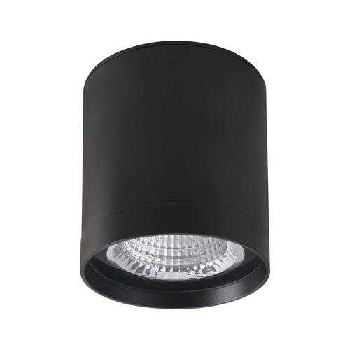Black Vetra IP65 Surface Lamp