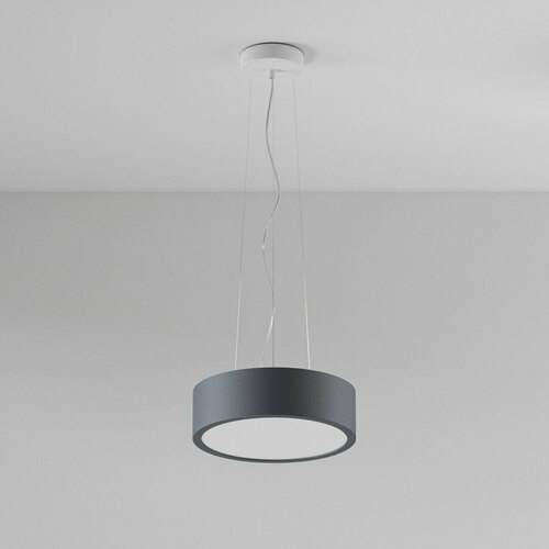 ABA 300 hanging LED 23W / 2231lm / 3000K, 230V, graphite gray (mat structure) RAL 7024