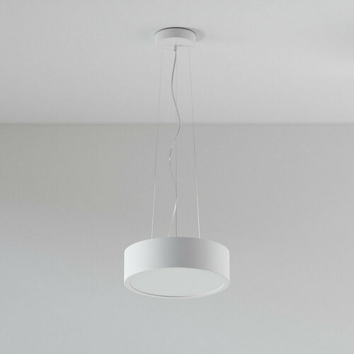 ABA 350 hanging LED 23W / 2231lm / 3000K, 230V, white (mat structure) RAL 9003