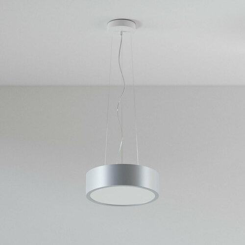 ABA 350 pendant LED 23W / 2231lm / 3000K, 230V, aluminum silver (mat) RAL 9006