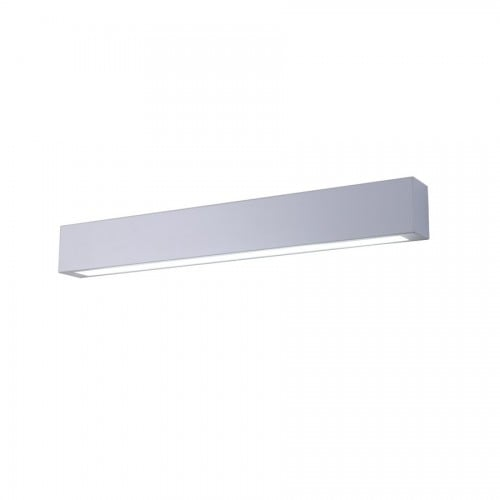 White bathroom sconce Ibros IP44 medium