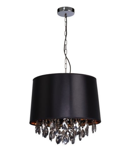Black pendant lamp in the style of Glamor VIGO
