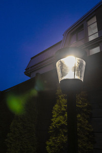 Garden lantern (290mm) - LUNA GARDEN (E27 IP54) small 4
