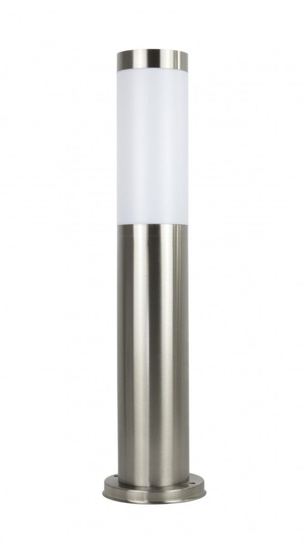 Lighting pole made of stainless steel LED 45 cm
